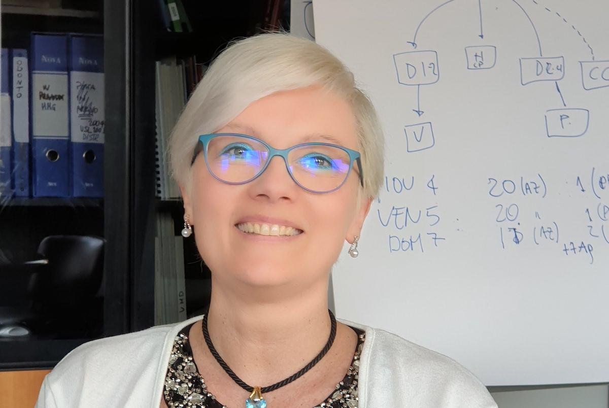 La dottoressa Francesca Faelli, direttrice dei Distretti socio-sanitari 1 e 2