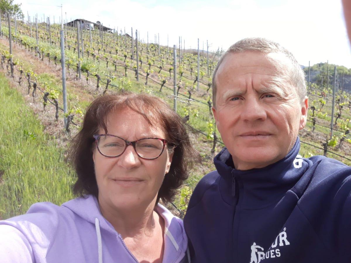 Agnese Rollandin e Ugo Philippot