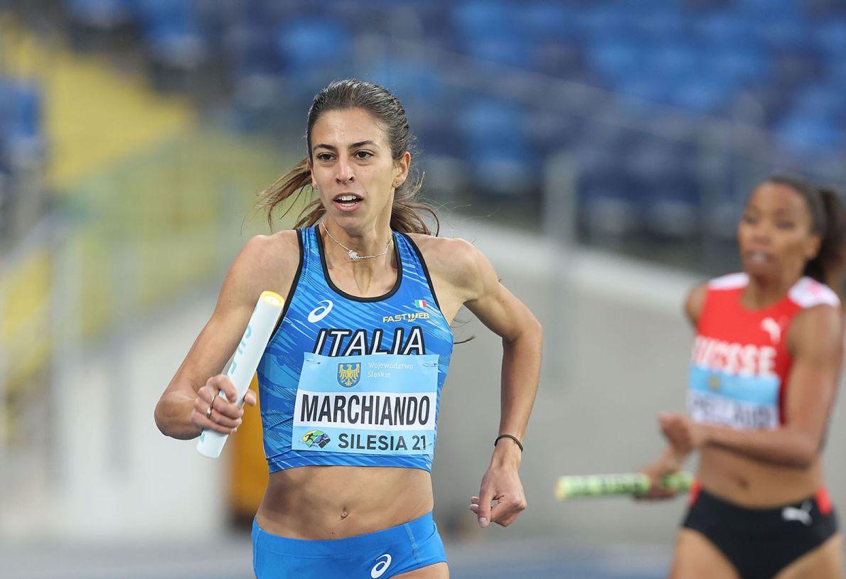Eleonora Marchiando World Relay foto Colombo Fidal
