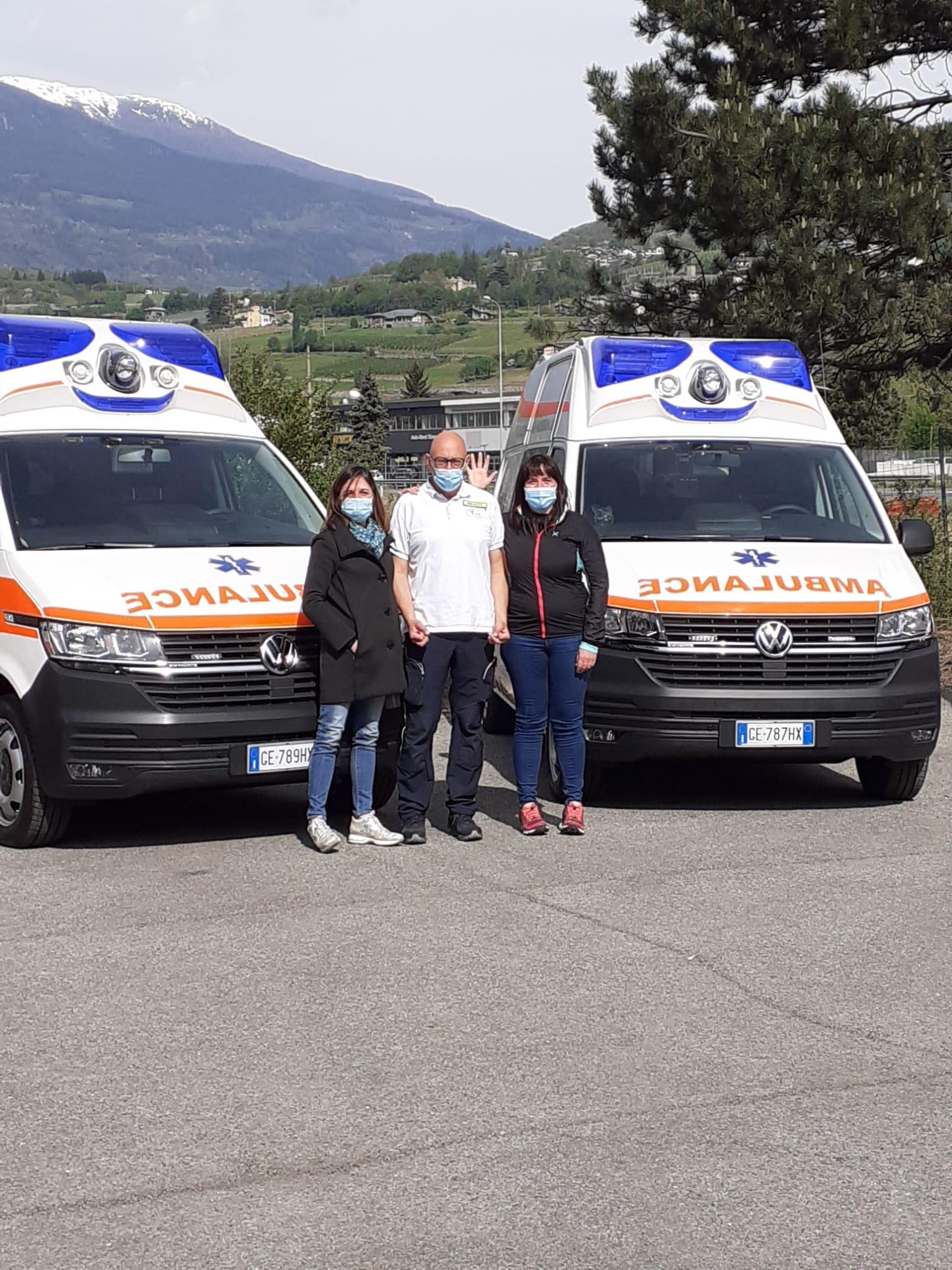 Nuove ambulanze