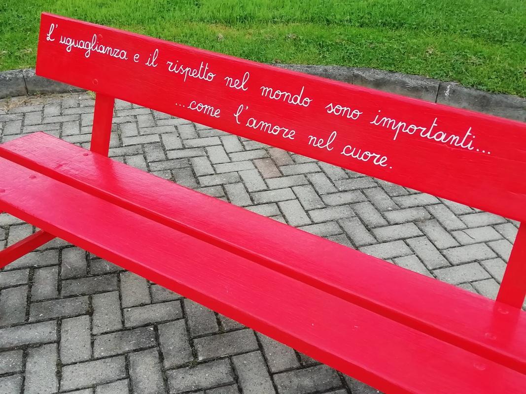 Panchina rossa Aymavilles