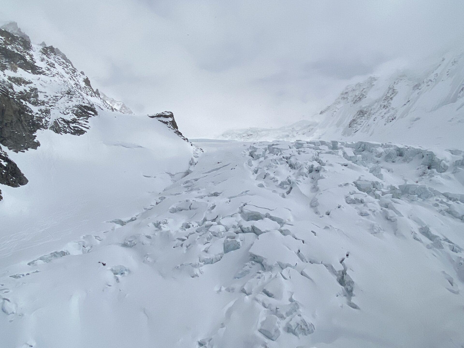 Crepaccio Zermatt Monte Rosa