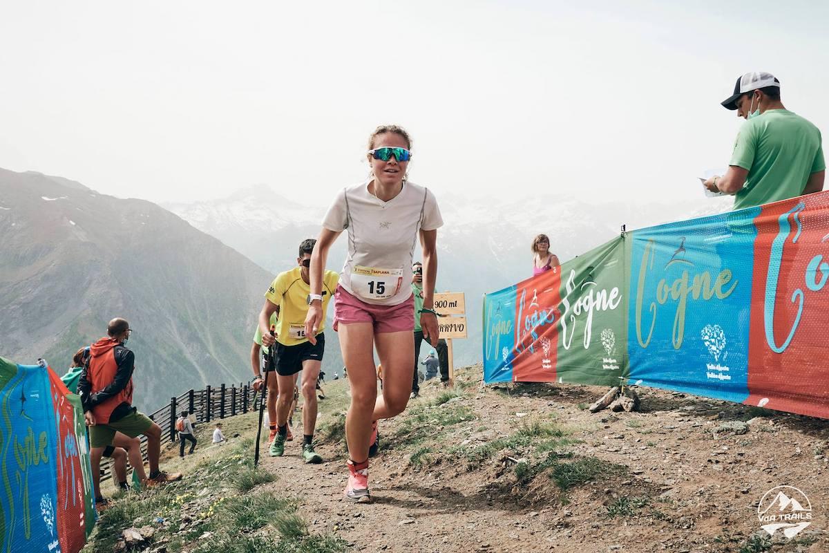 Alexa Borettaz Vertical Tsaplana foto Lorenzo Mineo VDA Trails