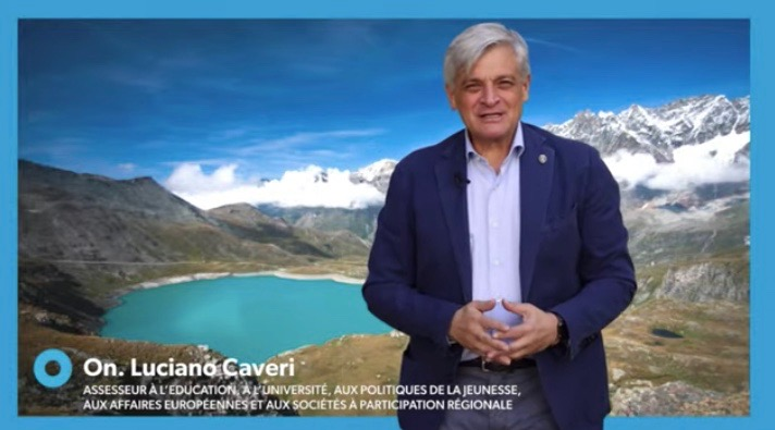 Assessore regionale Luciano Caveri