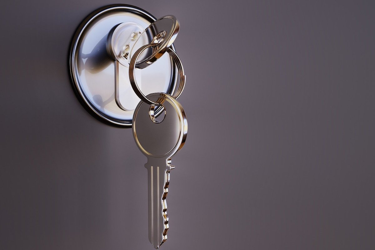 Chiave - casa - affitto - porta