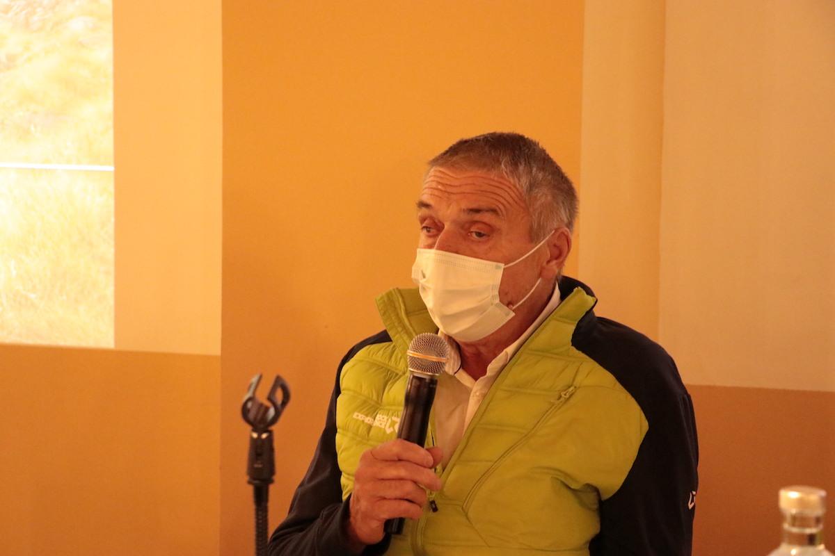 Conferenza stampa Valsavarenche Montagne Sauvage Giuseppe Dupont