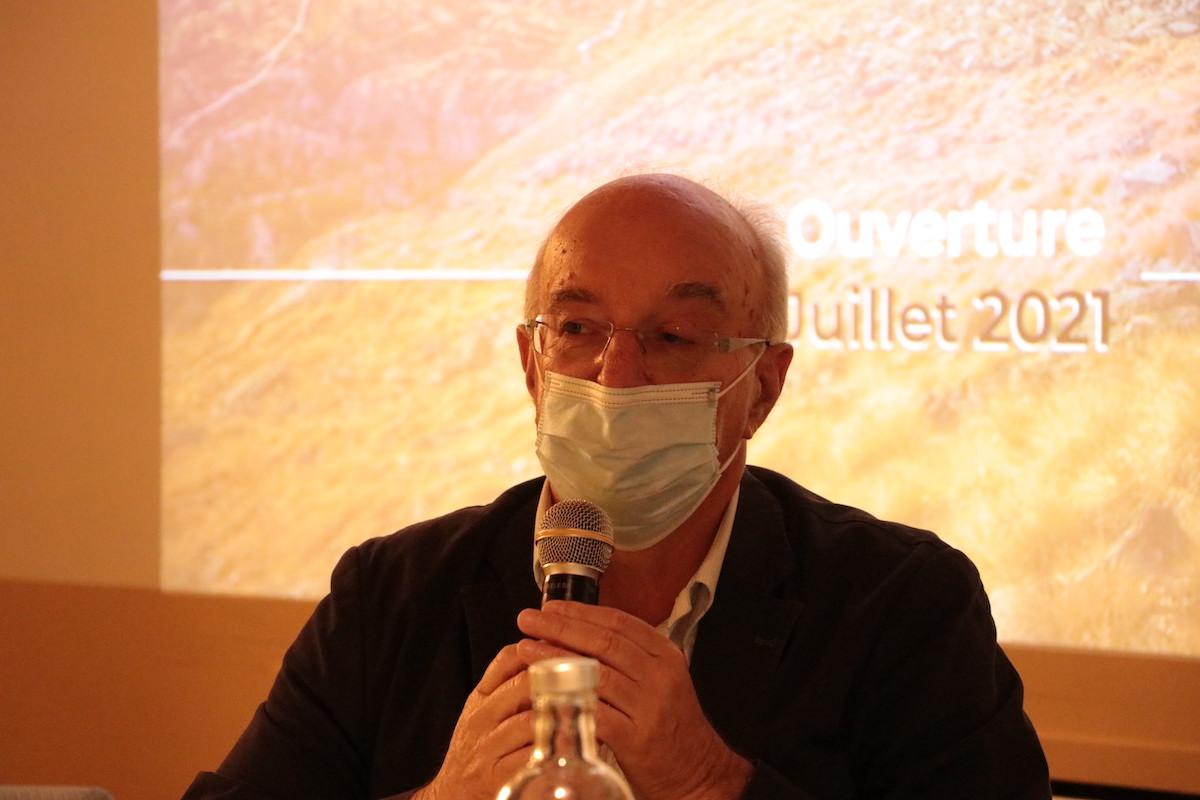 Conferenza stampa Valsavarenche Montagne Sauvage Italo Cerise