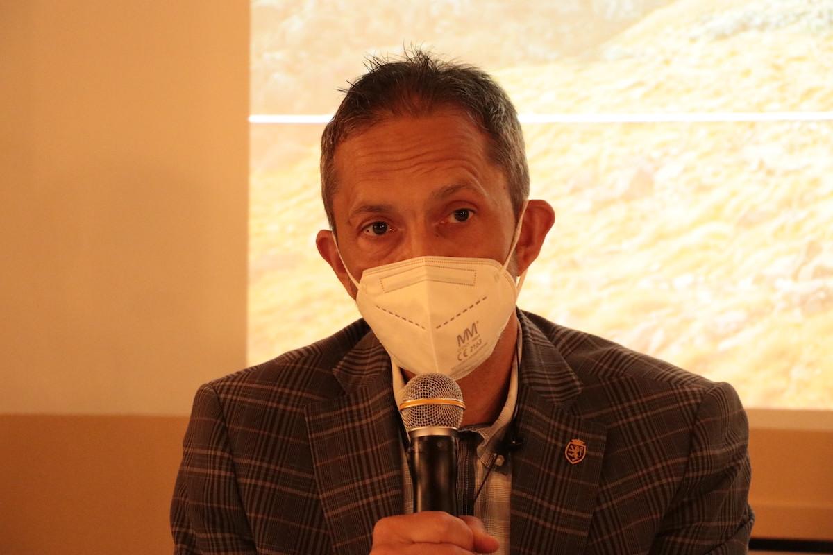 Conferenza stampa Valsavarenche Montagne Sauvage Jean Pierre Guichardaz