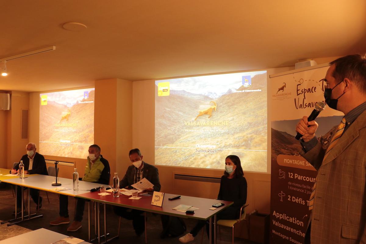 Conferenza stampa Valsavarenche Montagne Sauvage