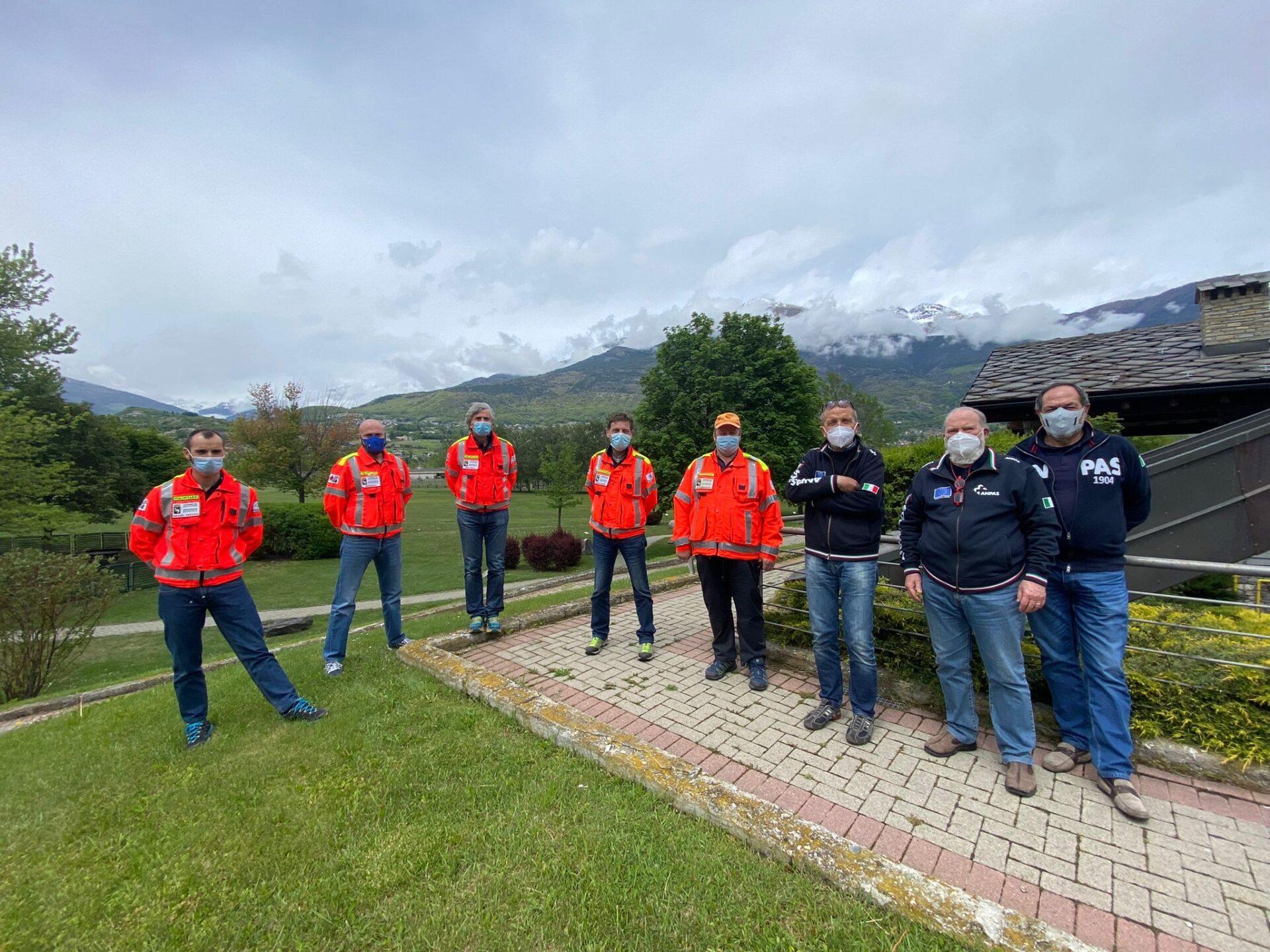 neo Consiglio Direttivo Anpas Valle d'Aosta Unknown