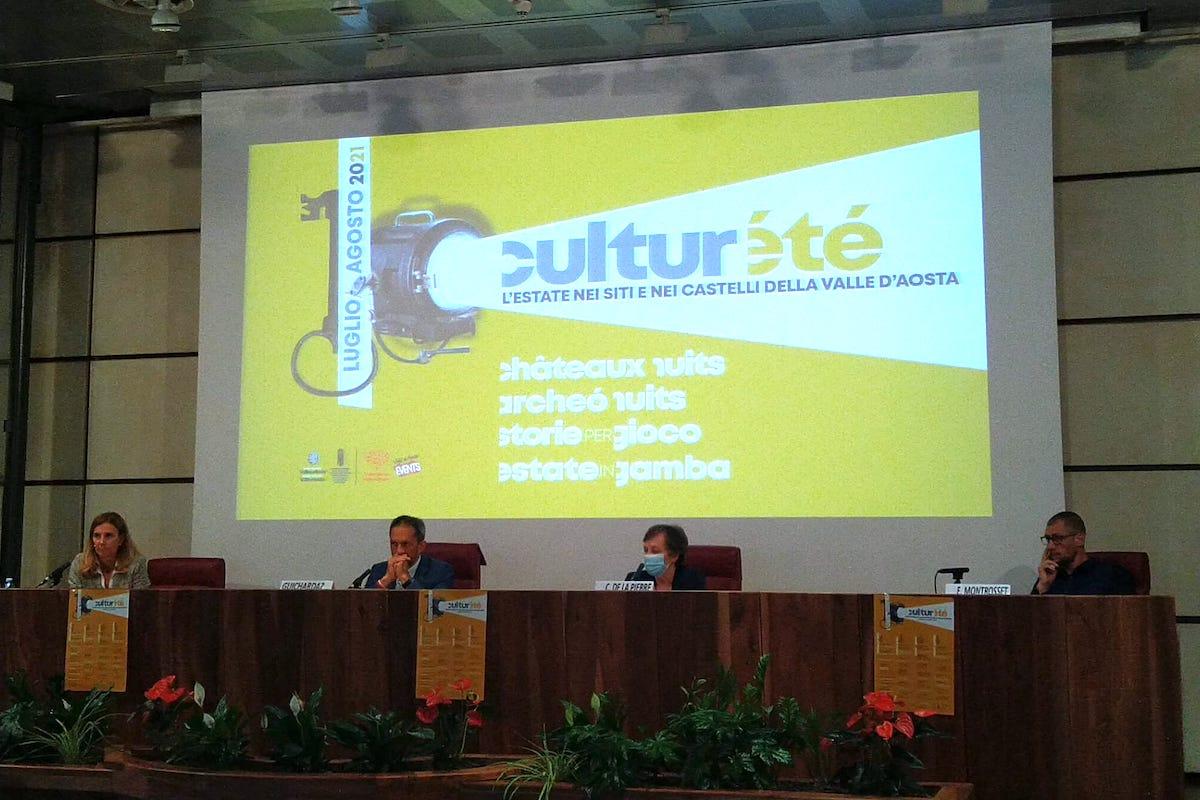 La presentazione a Palazzo regionale di Culturété
