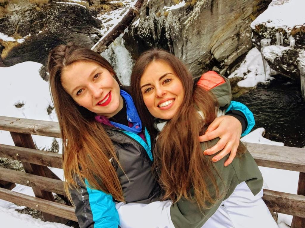 Paola Viscardi e Martina Svilpo - Foto da FB