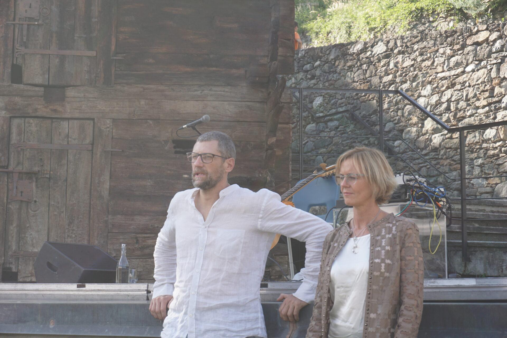 Enrico Montrosset e Nurye Donatoni