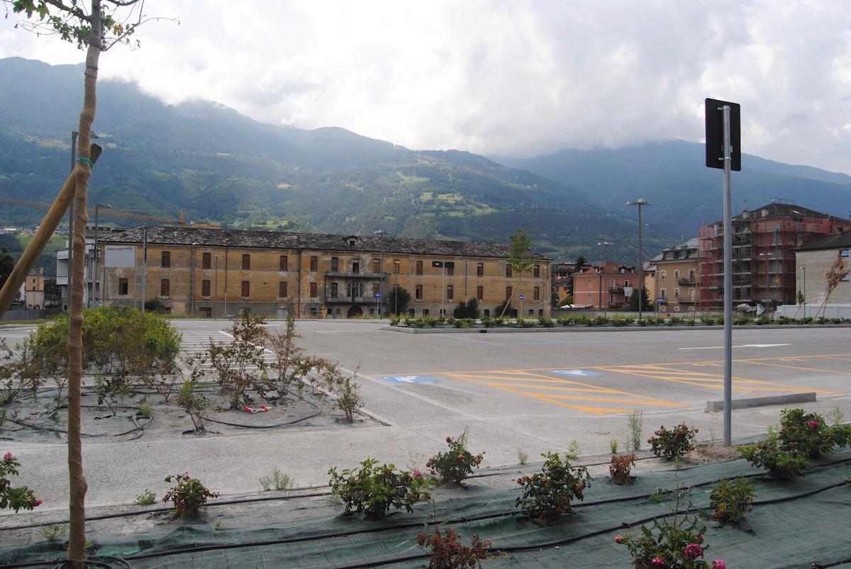 I nuovi parcheggi di via Monte Vodice - Nuv