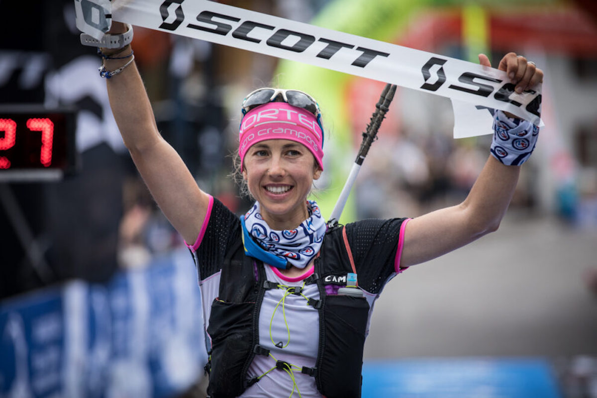 Giuditta Turini vince la Orobie Skyraid – Foto @ Maurizio Torri