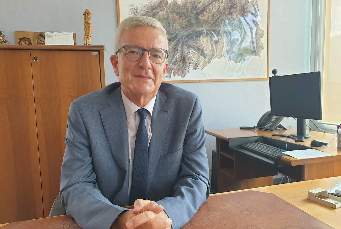 Il commissario Usl Massimo Uberti