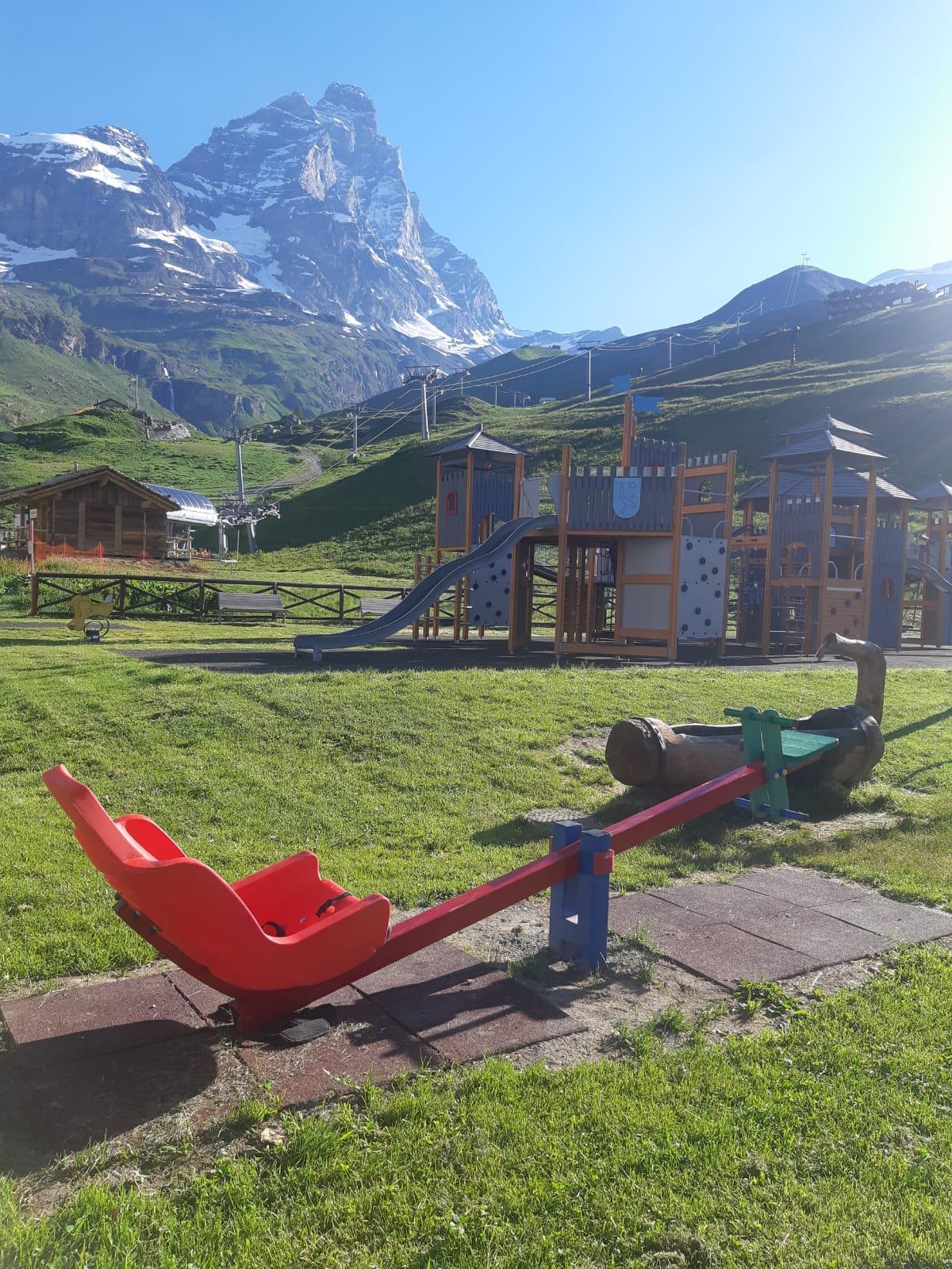 Il parco giochi di Valtournenche - Cervinia