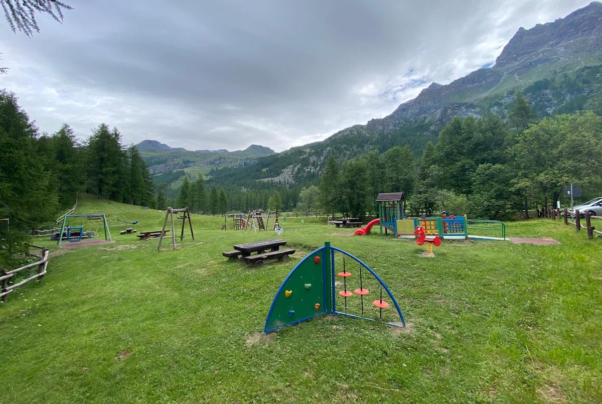 Il parco giochi di Valtournenche