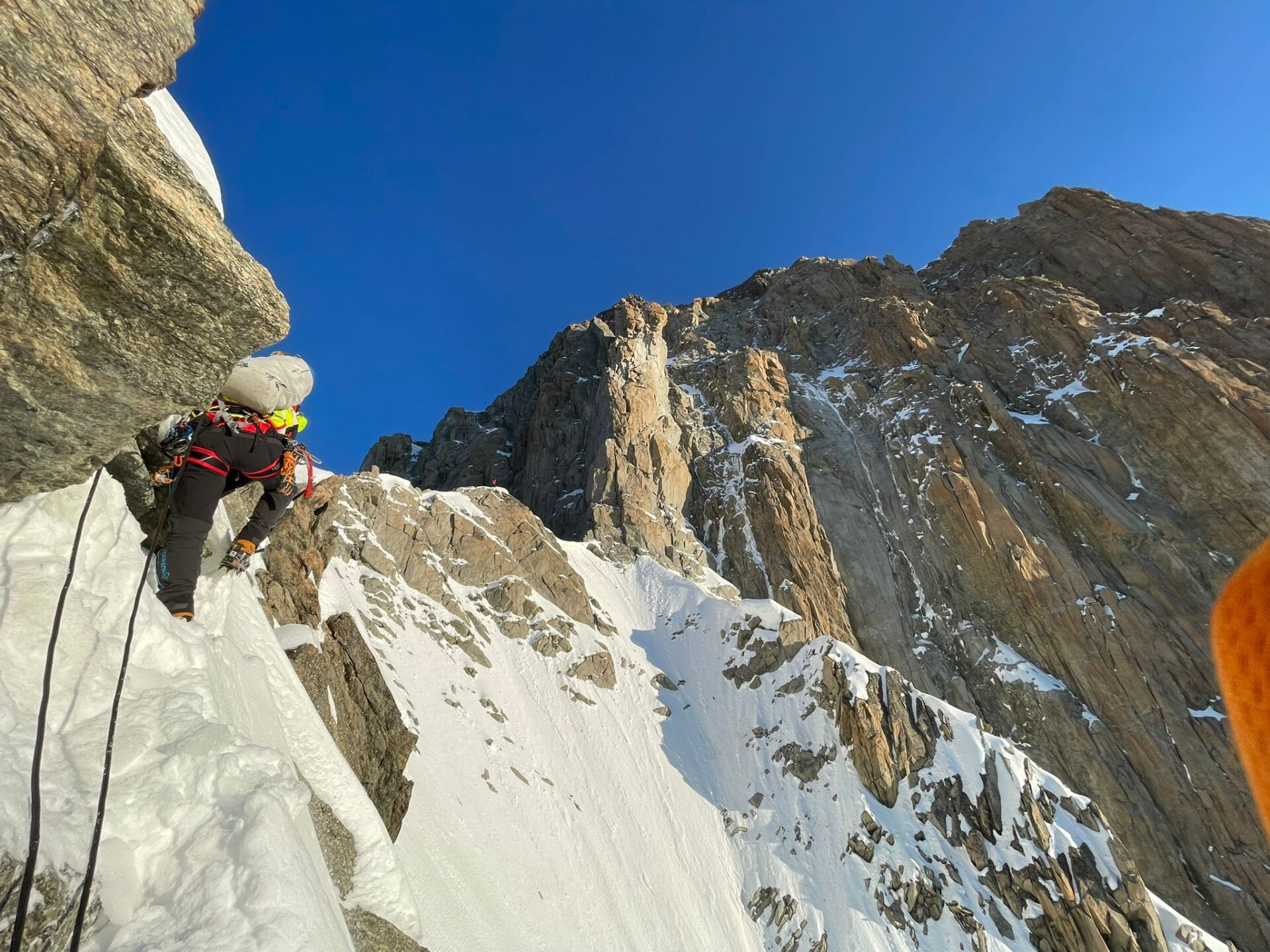 Recuperati due alpinisti Monte Bianco