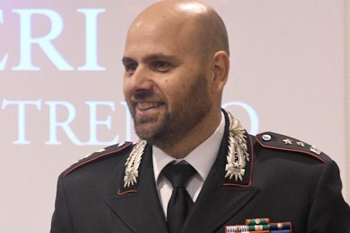Il Comandante dei Carabinieri del Gruppo Aosta Giovanni Cuccurullo