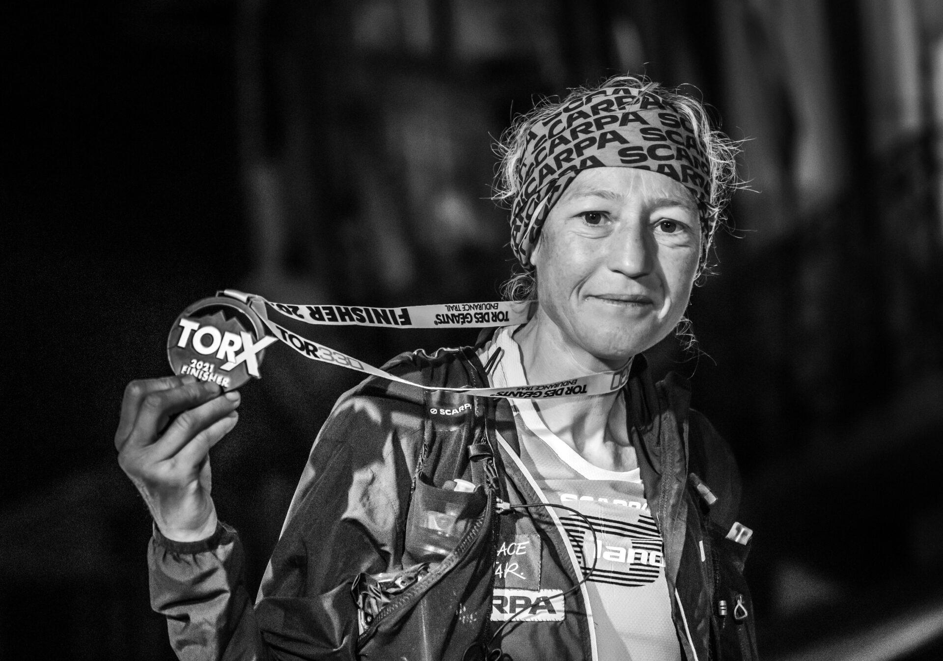 Silvia Trigueros Garrote a Courmayeur - Foto di Davide Verthuy