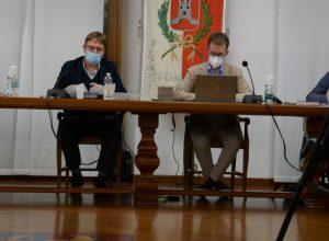 Il sindaco Marco Sucquet e il vicesindaco Fabio Badery