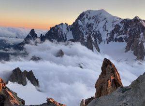 Intervento soccorso alpinisti bloccati sul Dente del Gigante