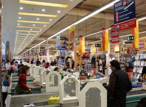 Carrefour - Immagine di archivio