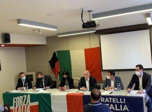 Immagine di archivio - Forza Italia, Fratelli d'Italia