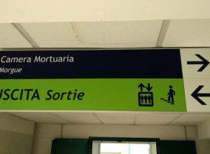 Camera mortuaria Aosta