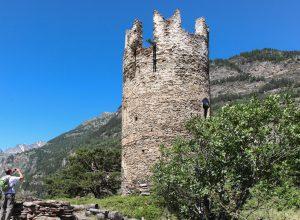 Cammino Balteo, il Castello di Montmayeur- foto Regione VdA