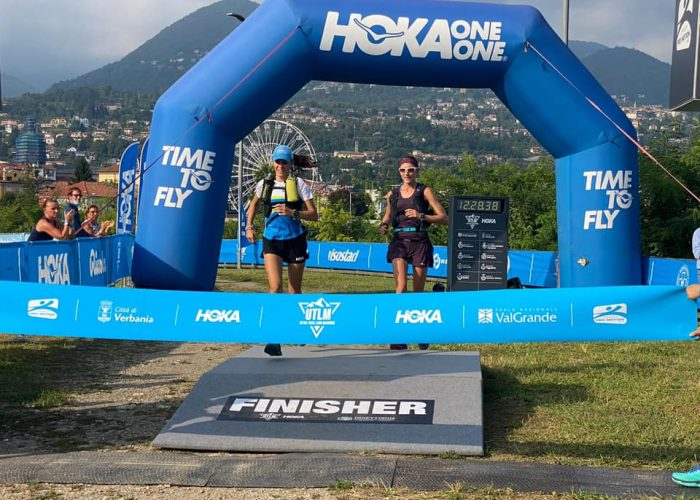 Chiara Boggio e Sonia Locatelli allUltra Trail Lago Maggiore