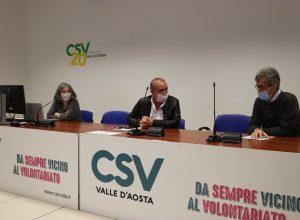 Conferenza stampa presentazione bando CSV
