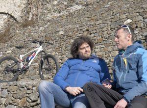 Paul Creton e Fabio Marguerettaz