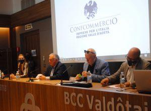 La conferenza stampa di Confcommercio VdA sul Pgtu di Aosta