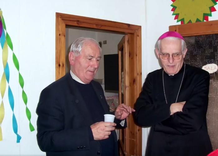 Don Silvio Perrin e Monsignor Giuseppe Anfossi