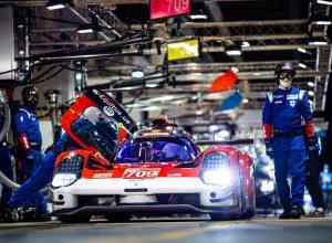 Una delle due le Glickenhaus SCG 007 LMH - Foto Twitter - 24 Hours of Le Mans