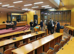 L'aula del Tribunale di Torino - Rollandin - Cuomo - Accornero