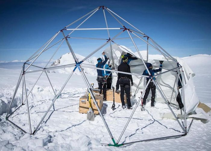 Ice Memory sul Monte Rosa foto Facebook
