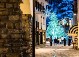 Il Centro di Courmayeur   - foto Facebook Courmayeur Mont Blanc