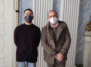 L'Assessore alla Cultura Samuele Tedesco ed il Presidente del Csv Claudio Latino
