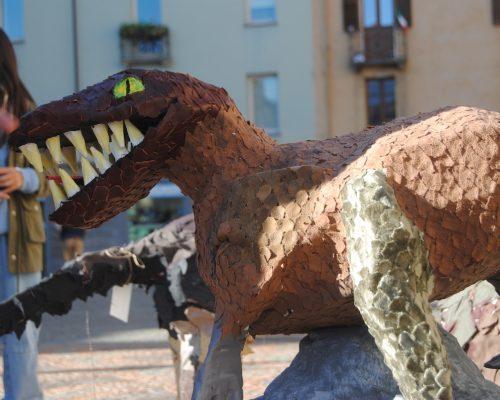 La Mostra Jurassiko in Arte dei ragazzi del Liceo Artistico di Aosta