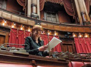 La deputata valdostana Elisa Tripodi (M5S)