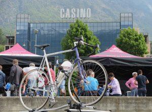 La partenza del Giro d'Italia a Saint-Vincent