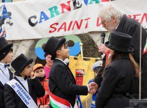L'investitura del Piccolo Sindaco - Carnevale dei Piccoli di Saint-Vincent