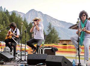Negrita in concerto all'Alpe Ciarcerio - Foto Massimiliano Riccio