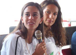 Charlotte Bonin e Eleonora Marchiando