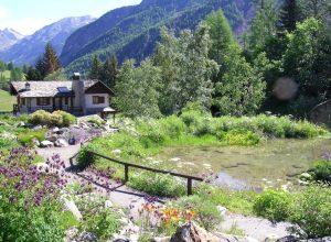 Il giardino botanico alpino Paradisia