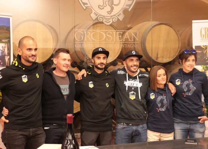 Presentazione Grosjean Wine Trail