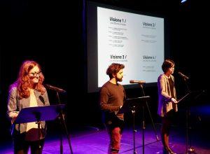 Presentazione piano strategico - Stefania Tagliaferri, Andrea Cazzato e Francesca Zanin